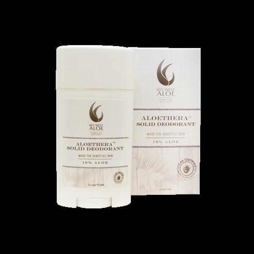 Aloe Solid Deodorant 2.5 oz