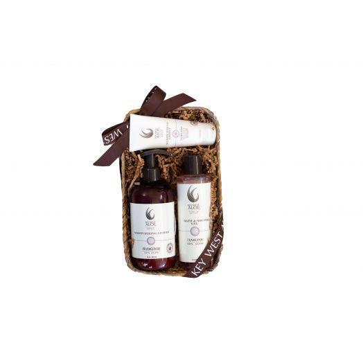 Frangipani Delight Gift Basket