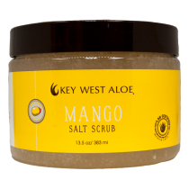 Key West Aloe - Mango Salt Scrub 13 oz