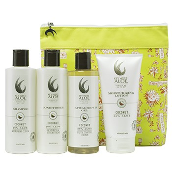 Tropical Escapes Coconut Essentials by  Key West Aloe