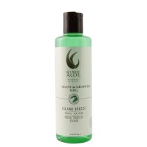 Key West Aloe - Island Breeze Bath & Shower Gel  8 oz