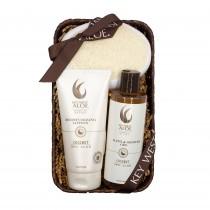 Tropical Coconut Bath Gift Set from Key West Aloe
