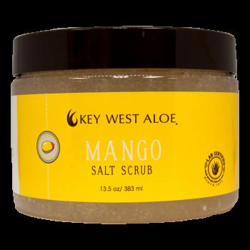 Key West Aloe - Mango Salt Scrub 13 oz