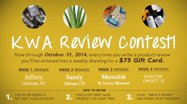 Write a review for a chance to win$75 Coupon Code. One Winner each week!