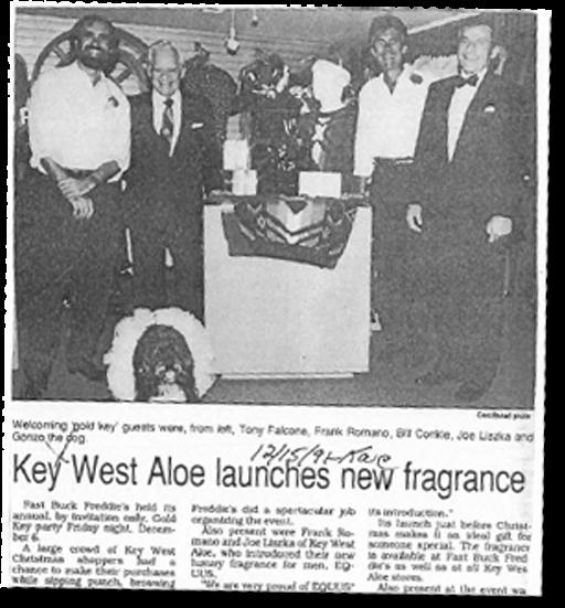Key West Aloe TimeLine